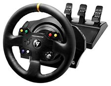Thrustmaster TX Racing Wheel Leather Edition Volante in Pelle cucita a mano Com