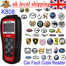 KW808 EOBD OBDII OBD2 Car Fault Code Reader Vehicles Scanner Diagnostic Tester A