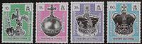 40th anniversary of coronation stamps 1993 Tristan da Cunha, SG ref: 542-545 MNH