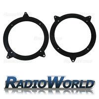 "BMW e46 3 Series Front & Rear Door Speaker Adapters Rings Spacers 130mm 5.25"""