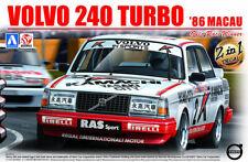 Volvo 240 Turbo '86 Macau GP Guia 1:24 Model Kit Bausatz Beemax Aoshima 098257