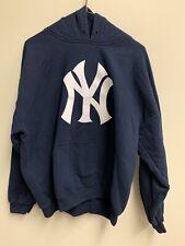 New York Yankees 2009 World Series Champions Blue Hooded Sweatshirt Size L