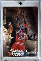 1996-97 Collector's Choice Crash the Game #R30 Michael Jordan Bulls, Rare Insert