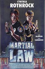Martial Law (1990) - Cynthia Rothrock - Hardbox -