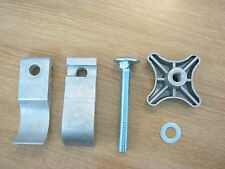 Aluminium tower outrigger saddle blade complete set