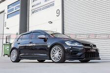 VW Golf MK7 MK7.5 GTI R 12-19 Slimline Window Visors / Weathershields Set (4PCS)
