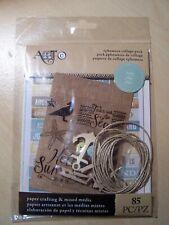 Art C-Ephemera Collage Pack-Beach - 85 pièces