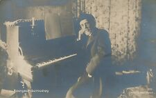 Louis-Albert Bourgault-Duroudray Real Photo PC – French Breton Composer, Pianist