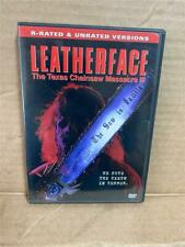 New ListingLeatherface: The Texas Chainsaw Massacre 3 (Dvd, 2003) Rated and Unrated