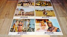 GENGHIS KHAN ! omar sharif f dorleac jeu 12 photos cinema lobby cards 1964