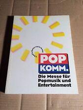 POPKOMM MESSE-KATALOG 1994 - DIE MESSE für POPMUSIK und ENTERTAINMENT