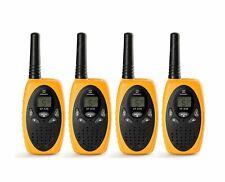 4 Pack ZANMAX XF-638 Walkie Talkie Long Range 2 way Radio UHF 400-470MHZ 8CH 3KM