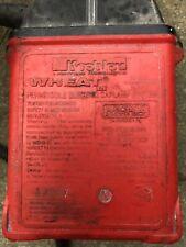 Vintage Wheat Khoeler Coal Miner Light, Lamp, Cord, Battery Car lamp
