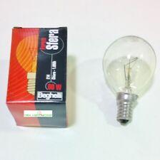 Lampadina incandescenza sfera chiara 60W E14 marca Beghelli conf. 10 pezzi