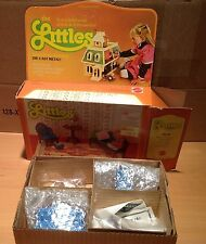 Vintage Mattel The Littles- Hedy Littles and Living Room Furniture Set Sealed