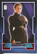 Doctor Who 2015 Red Parallel [50] Base Card #134 Jenny Flint