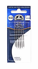 DMC Tapestry Needles Assorted Sizes 18-22