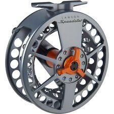 Waterworks Lamson Speedster Fly Fishing Reel ~ Closeout Grey/Orange