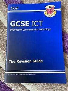 CGP GCSE ICT information communication & technology Revision Guide VG condition