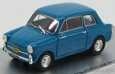 MODELLINO AUTO AUTOBIANCHI BIANCHINA BERLINA F 1965 BLUE SCALA 1:43