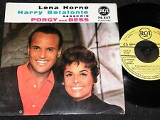 LENA HORNE & HARRY BELAFONTE Gershwin Porgy../ French 4-track SP 1959 RCA 75.557