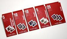 CANADA lot de 5 1992 brochures. 2.30 To $10.75 $. (SANS Olympique logo) neuf sans charnière