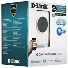 D-LINK HD Cube Cloud Camera (DCS-2132L) IP Camera WiFi, LAN, local SD storage