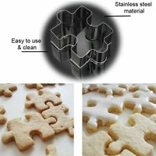 1Pcs Stainless Steel Cake Puzzle Shape Cutter Mold Cookie Tools Chic