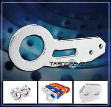 REAR RACE TOW HOOK KIT SILVER INTEGRA RSX ACCORD CRX CIVIC DEL SOL FIT PRELUDE