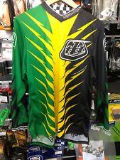 Motocross Troy Lee Jersey Adult GP Shocker Green Yellow  Black S*