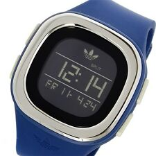ADDIDAS Denver Digital Silicone Watch - Blue Style ADH3139