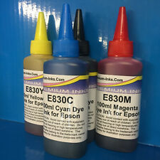 4x100ml Refill Ink for Epson WORKFORCE WF-2860DWF WF-2865DWF WF-2750DWF Non OEM