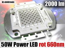 1 Stück 50W Power LED rot 660nm 2000lm Uf=20V, Imax=1750mA
