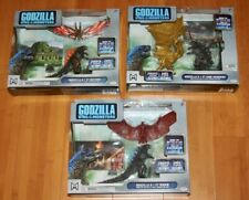 Jakks Godzilla King Of The Monsters Lot of 3 battle packs Ghidorah Rodan Mothra