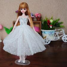"New 12"" for Blythe Outfit Handmade Doll Dress Princess Dress Doll White"