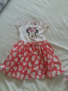 Disney Minnie Mouse Dress Age 3-4