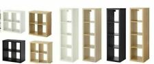 IKEA KALLAX STORAGE DISPLAY UNIT SHELVING BOOKCASE FULL RANGE INSERTS DRONA BOX