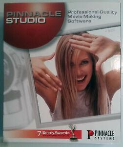 Pinnacle Studio Version 7 (2001) movie making software for Windows 98/2000/XP