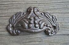 Pequeño Victoriano de hierro fundido muebles de acanto Cajón Tire Mango gabinete de archivos AL8