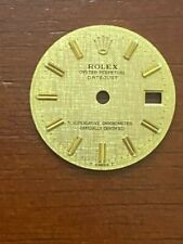 Rolex Oyster Perpetual Datejus Gold  Dial for Vintage Quartz Watch