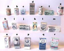 Stile Vintage Casa delle Bambole Miniature Nursery Set