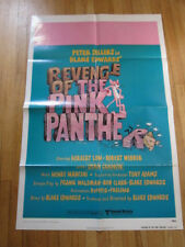 REVENGE OF THE PINK PANTHER original 1978 poster Peter Sellers
