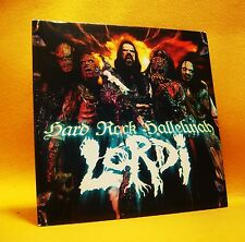 Cardsleeve single CD Lordi Hard Rock Hallelujah 2TR 2006 Hard Rock