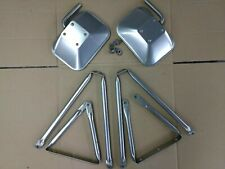 FORD  TRUCK PICKUP WEST COAST STAINLESS STEEL TOWING MIRRORS OVAL TUBE