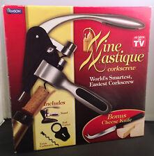 Wine Mastique Corkscrew & Bonus Cheese Knife As Seen on TV