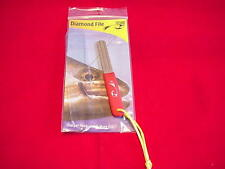 Rising Diamond Coated Hook File and Sharpener Great New