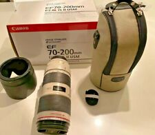 Canon EF 70-200mm f/2.8L IS II USM Lens Original Box MINT