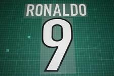 Inter Milan 98/99 #9 RONALDO Homekit Nameset Printing