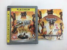 PS3 Playstation 3 Pal Game SAINTS ROW 2 with Box Manual