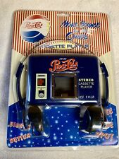 Vintage Pepsi Walkman Cassette Player More Bounce To The Ounce Collectible NIB